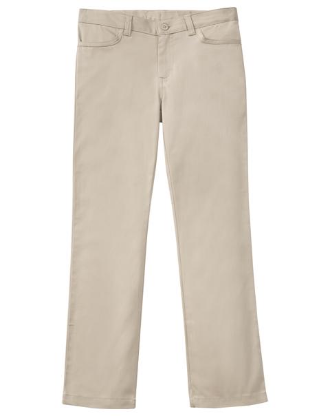 Classroom Girl's Girls Adj. Matchstick Narrow Leg Pant Khaki
