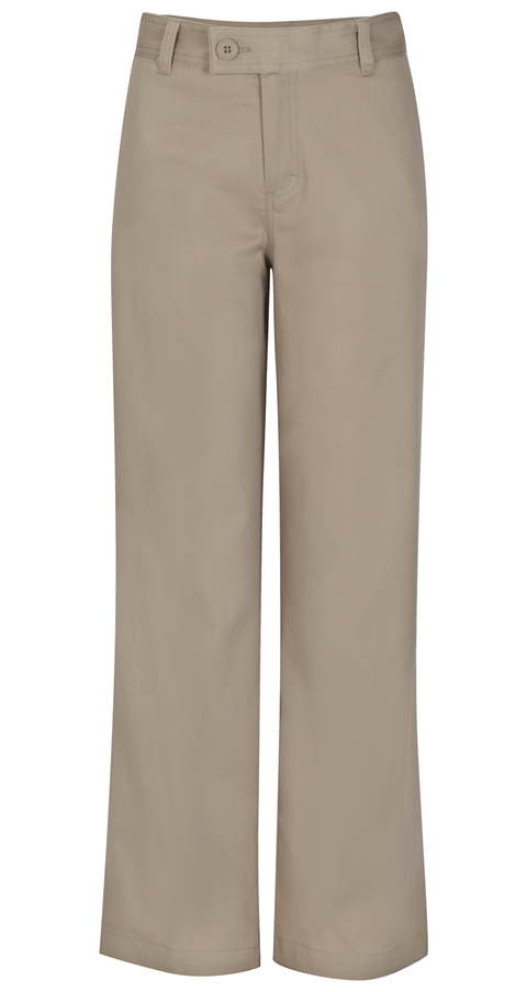 Classroom Uniforms Classroom Girl's Girls Adj. Waist Stretch Trouser Khaki