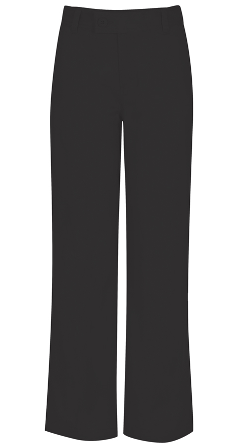 Classroom Uniforms Classroom Girl's Girls Plus Stretch Trouser Pant Black