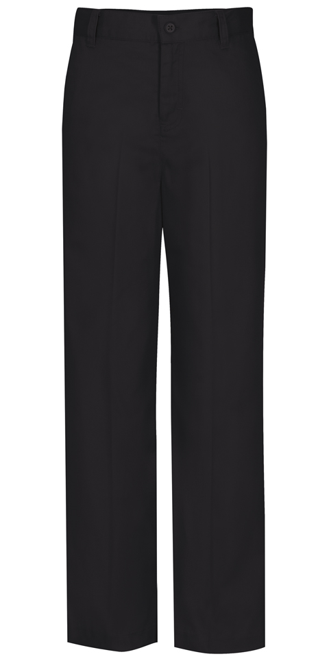 Classroom Girl's Girls Flat Front Trouser Pant Black