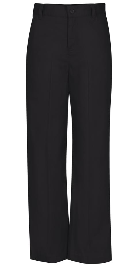 Classroom Uniforms Classroom Girl's Girls Adj. Waist Flat Front Trouser Black