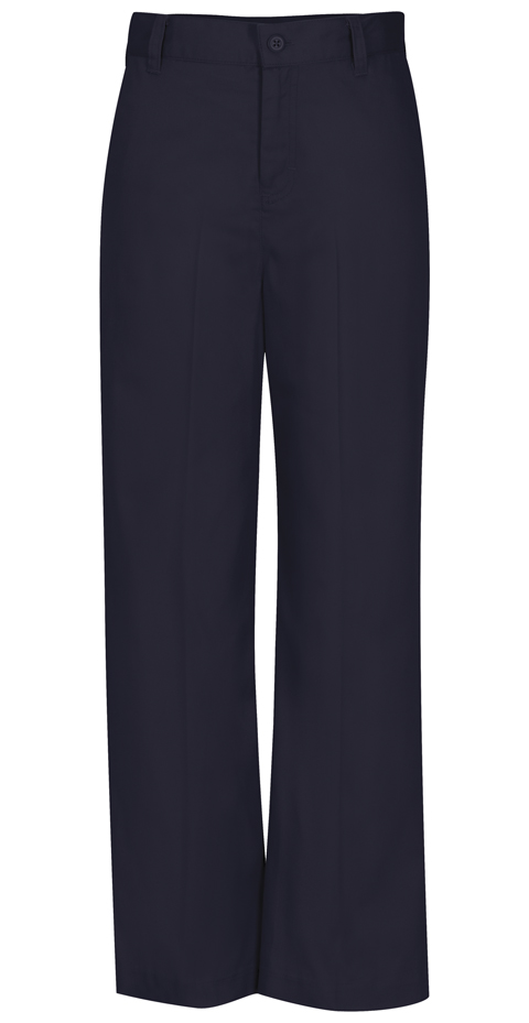 Photograph of Girls Adj. Waist Flat Front Trouser