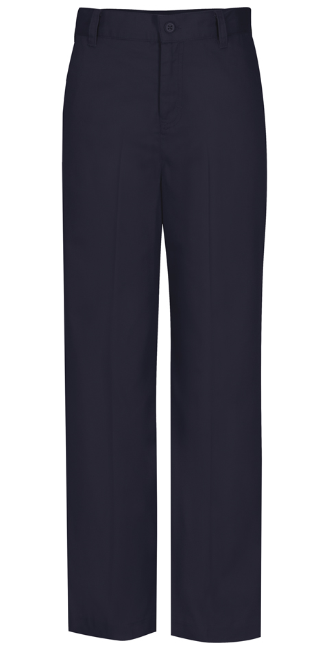 Classroom Missy's Missy Flat Front Trouser Pant Blue
