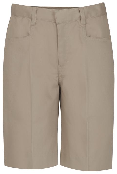 Classroom Uniforms Classroom Girl's Girls Adj. Waist Low Rise Bermuda Short Khaki