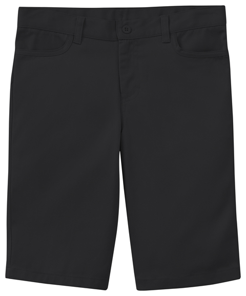 Classroom Girl's Girls Adj. Stretch Matchstick Short Black