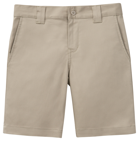 Classroom Boy's Boys Husky Stretch Slim Fit Short Khaki