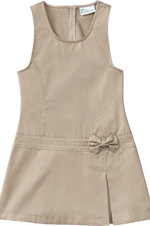 Black 4 CLASSROOM Little Girls Princess Seam Jumper