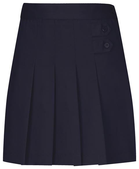 Classroom Girl's Girls Plus Pleated Tab Scooter Blue