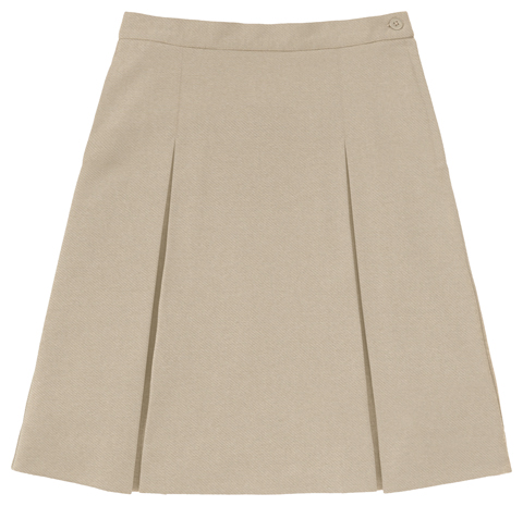 Photograph of Girls Ponte Knit Kick Pleat Skirt
