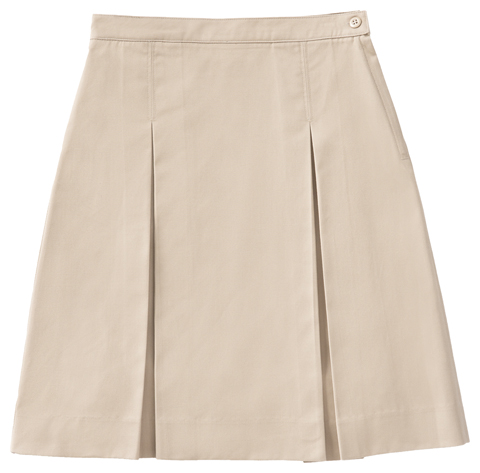 Photograph of Longer Length Kick Pleat Skirt