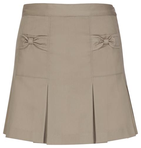 Classroom Uniforms Classroom Girl's Girls Bow Pocket Scooter Khaki