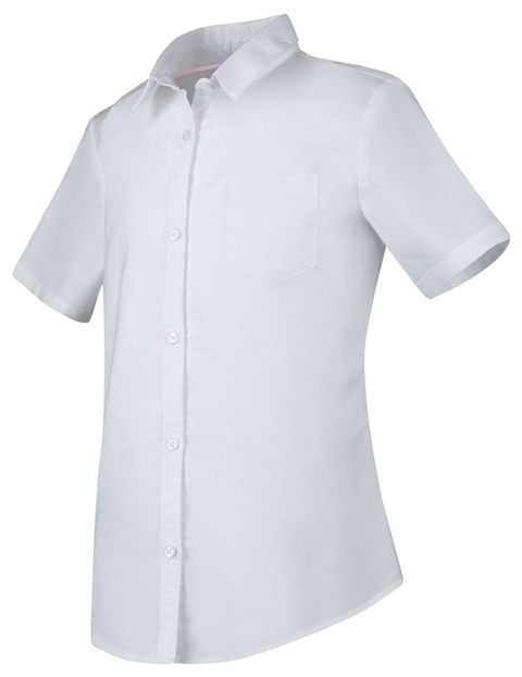 Photograph of Girls Short Sleeve Oxford