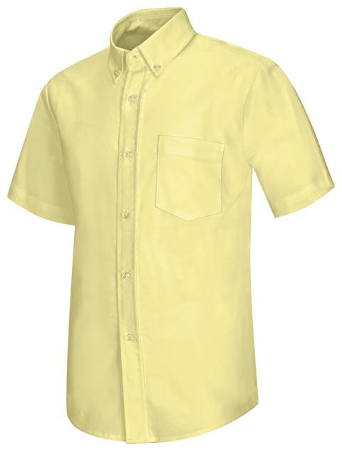 Photograph of Men's Short Sleeve Oxford Shirt