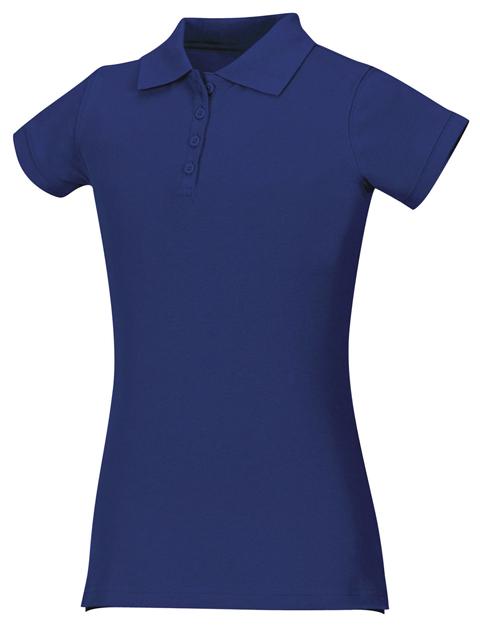 Classroom Uniforms Classroom Junior's Junior Stretch Pique Polo Blue