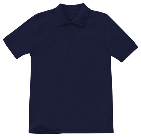 Photograph of Adult Unisex Short Sleeve Pique Polo