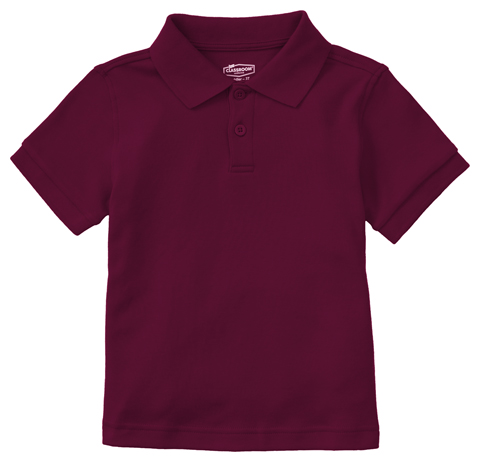 Photograph of Preschool Unisex SS Interlock Polo