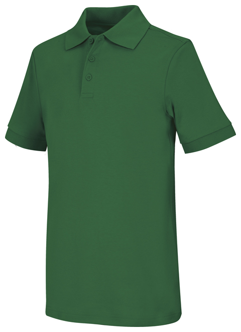 Classroom Uniforms Classroom Child's Unisex Youth Unisex Short Sleeve Interlock Polo Green