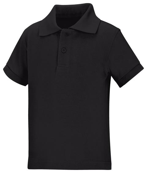 Classroom Uniforms Classroom Preschool Preschool Unisex SS Pique Polo Black