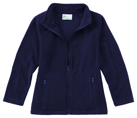 Photograph of Girls Fitted Polar Fleece Jacket