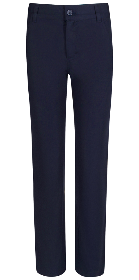 Real School Uniforms Boy's REAL SCHOOL Boys Stretch Skinny Pant Navy