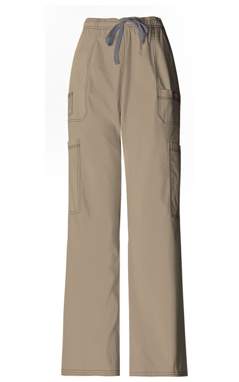 Dickies Gen Flex Men's Men's Drawstring Cargo Pant Khaki