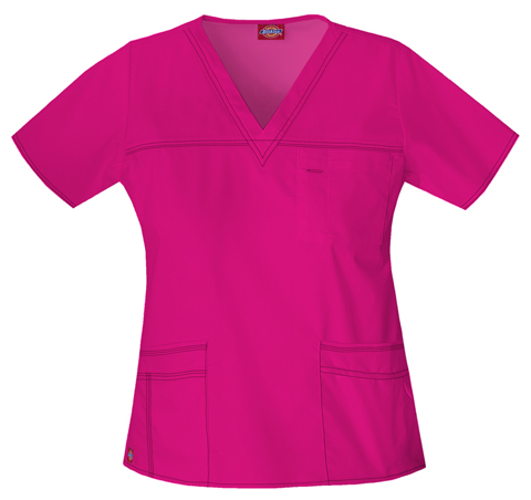 Gen Flex Women's V-Neck Top Pink