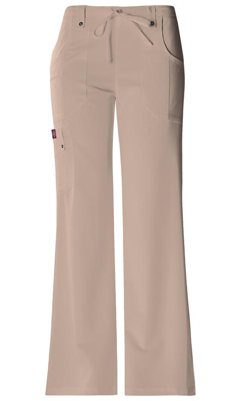 Dickies Dickies Xtreme Stretch Women's Mid Rise Drawstring Cargo Pant Khaki