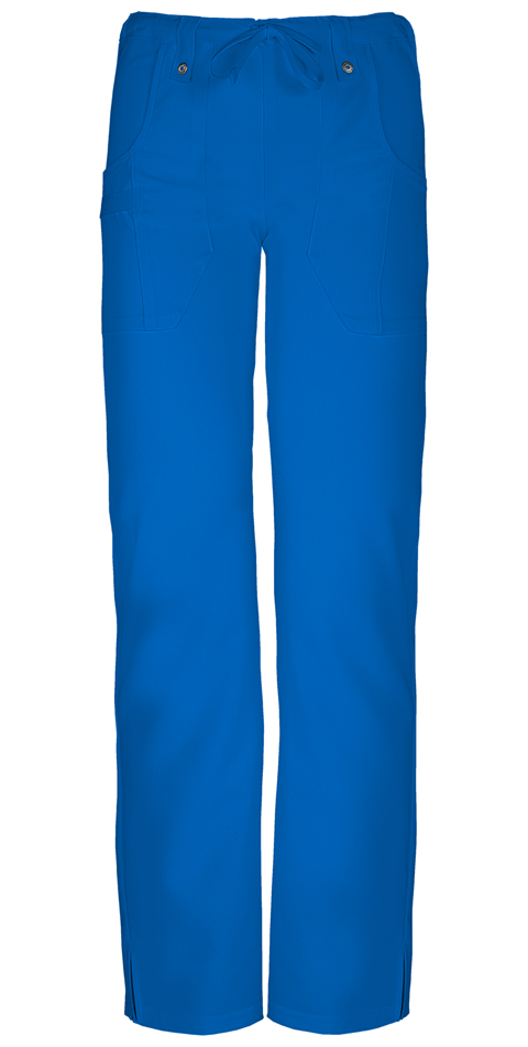 Dickies Xtreme Stretch Mid Rise Slim Drawstring Pant in Royal