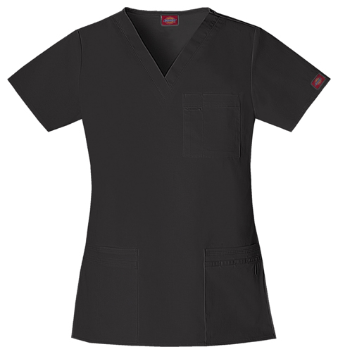 "Gen Flex Women's ""Youtility"" V-Neck Top Black"