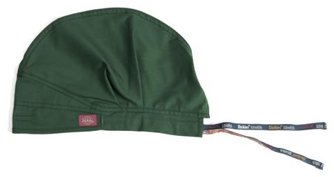 Dickies EDS Signature Stretch Unisex Unisex Scrub Hat Green