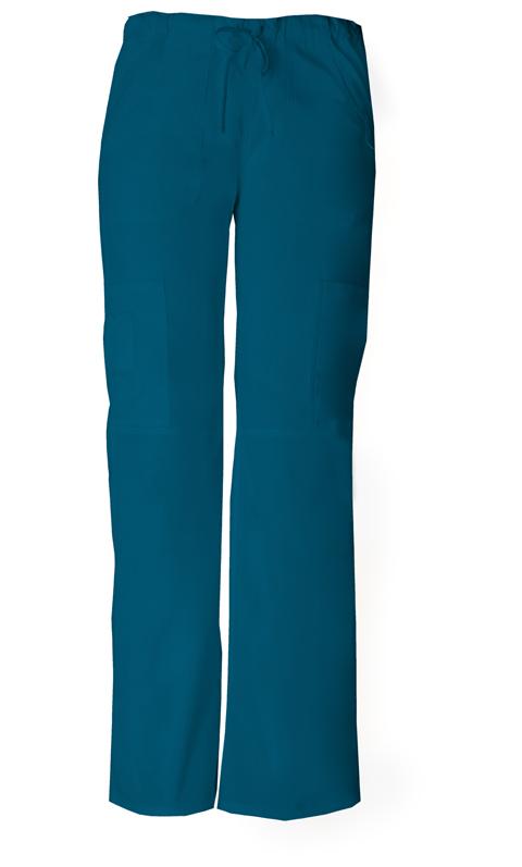Dickies Dickies EDS Signature Women's Low Rise Drawstring Cargo Pant Blue