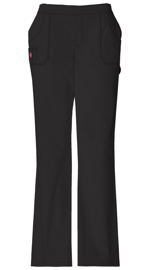 Dickies Gen Flex Women's Mid Rise Pull-On Pant Black