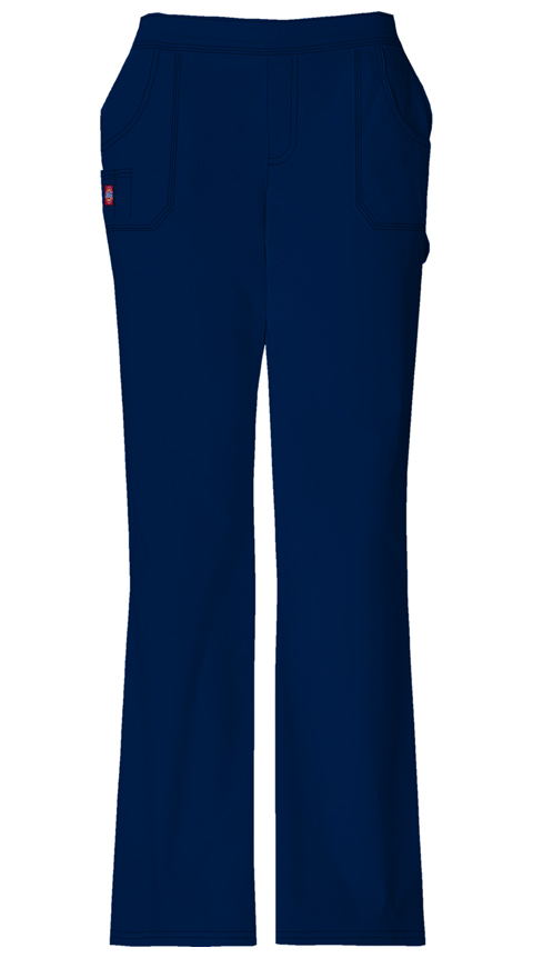 Gen Flex Women's Mid Rise Pull-On Pant Blue