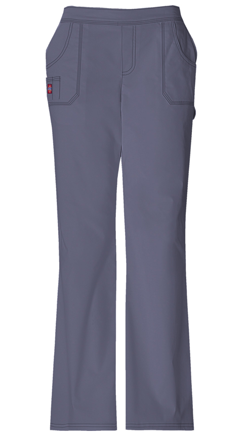 Dickies Gen Flex Women's Mid Rise Pull-On Pant Grey