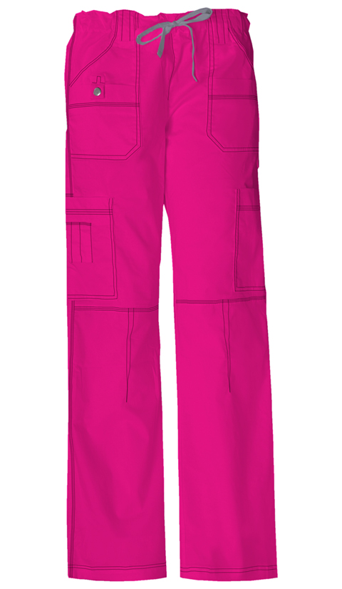 Dickies Gen Flex Women's Low Rise Drawstring Cargo Pant Pink