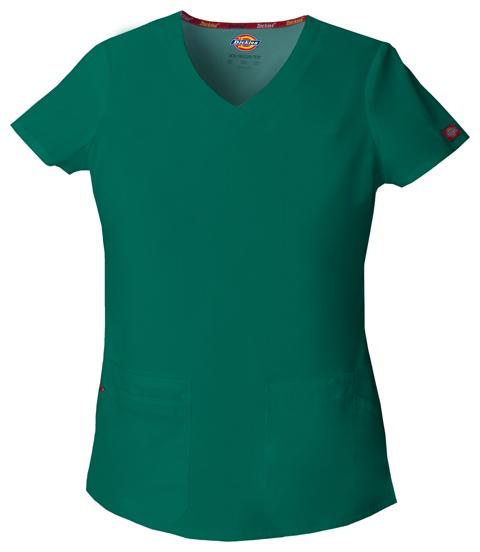 Dickies Dickies EDS Signature Women's V-Neck Top Green