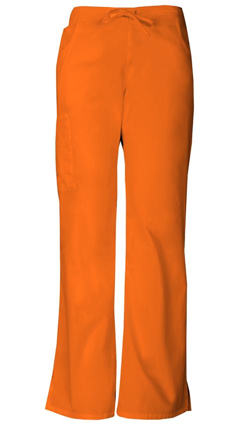 Cool Orange Scrub Pants Orange Unisex Pant  Cargo