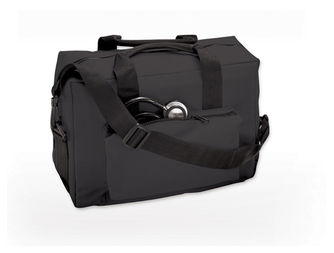 ADC Medical Instruments Unisex Nylon Medical Bag Black