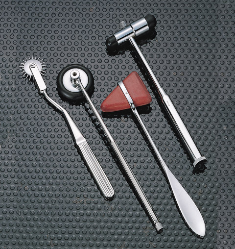 ADC Unisex Babinski Hammer with Needle Neutral