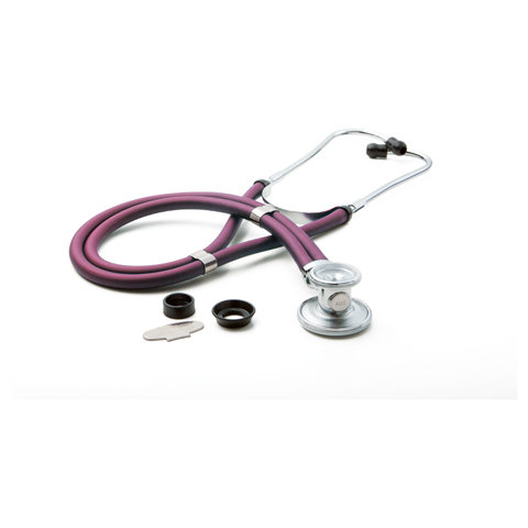 critical care cardiology Unisex ADSCOPE641 Sprague Rappaport Stethoscope Purple