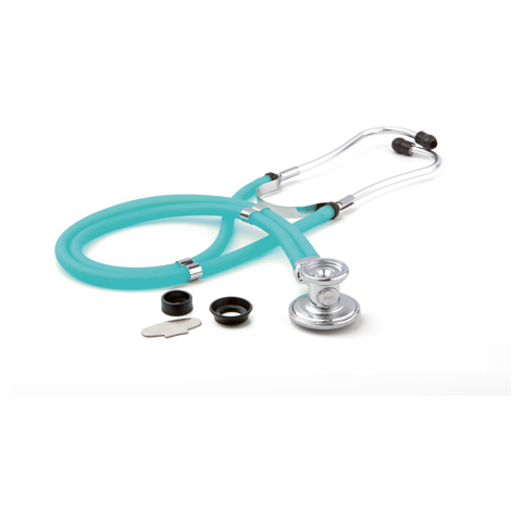 critical care cardiology Unisex ADSCOPE641 Sprague Rappaport Stethoscope Blue