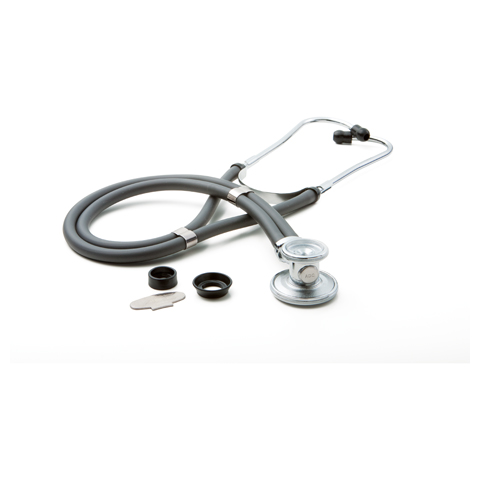 critical care cardiology Unisex ADSCOPE641 Sprague Rappaport Stethoscope Gray