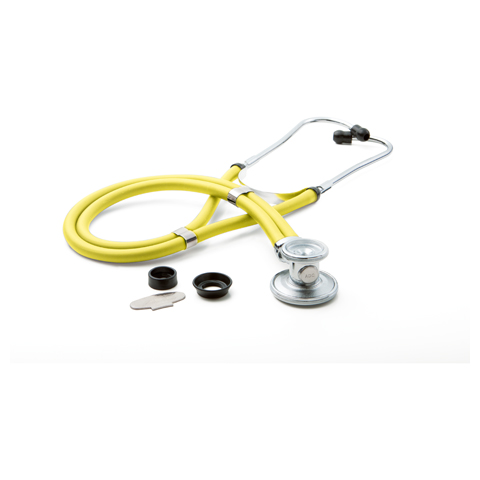 ADC Unisex ADSCOPE641 Sprague Rappaport Stethoscope Yellow