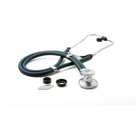 critical care cardiology Unisex ADSCOPE641 Sprague Rappaport Stethoscope Green