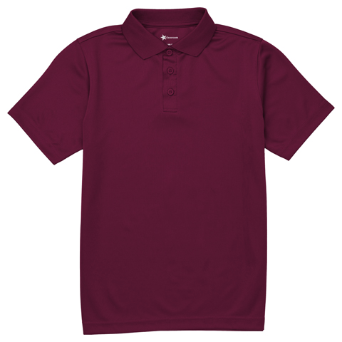 Photograph of Adult Unisex Moisture Wicking Polo