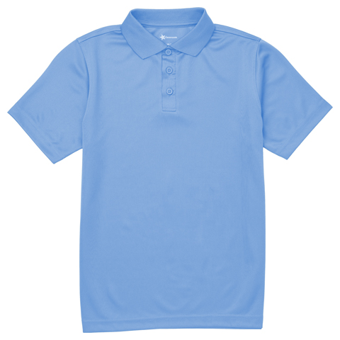 Photograph of Youth Unisex Moisture Wicking Polo