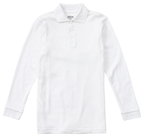 Photograph of Adult Long Sleeve Interlock Polo