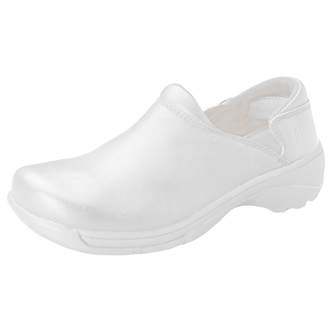 Mozo Women's Leather Step In White