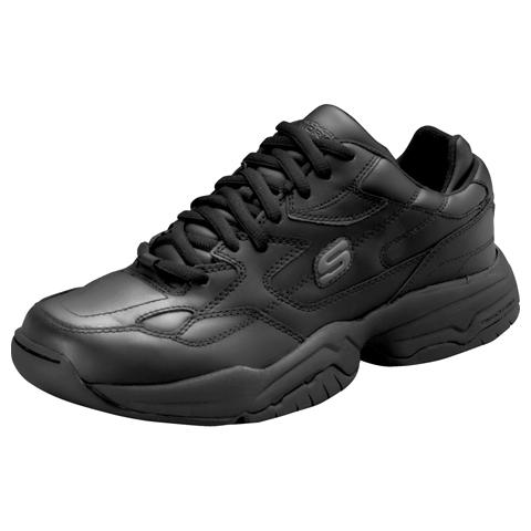 Medical Footwear Men's Mens Slip Resistant Athletic Footwear Black