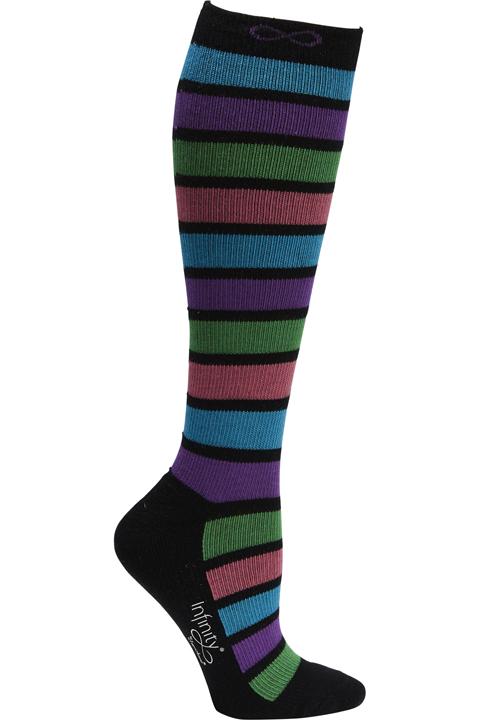 Infinity Footwear Women's KICKSTART Neon Stripes